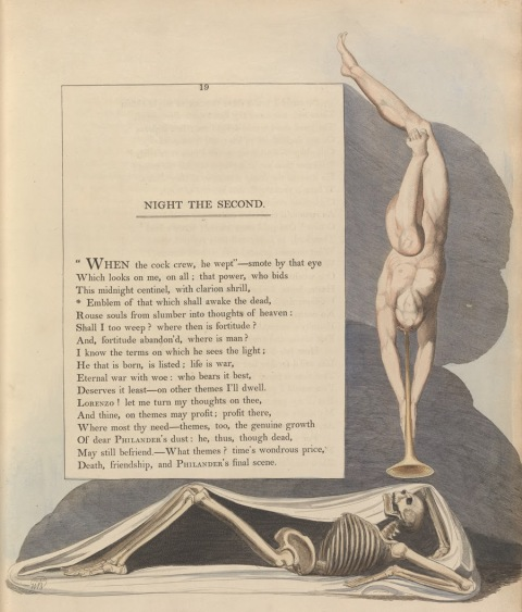 Illustrazione di William Blake per Night Thoughts